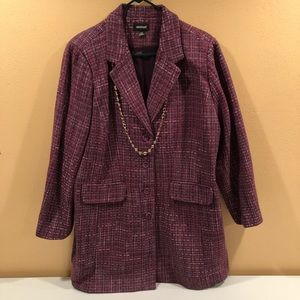 Avenue tweed blazer